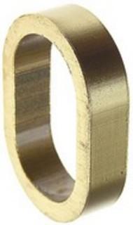 Distansring 30mm Nickel