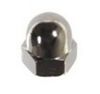 Kupolmutter M8 Nickel