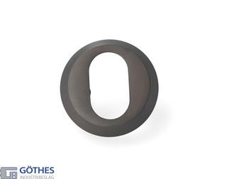 Cylinderring 11mm Oval Brunoxid