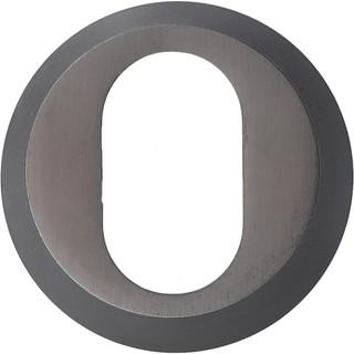 Cylinderring 13mm Oval Brunoxid