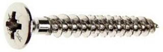 Träskruv TKFX 5,0X30 Stål Nickel