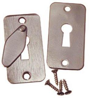 Nyckelskylt 5332 Nickel