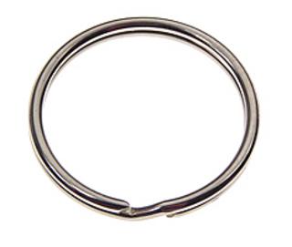 Nyckelring 1269 30mm Stål Nickel