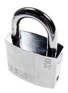 Hänglås PL330 Standard 2 Nycklar