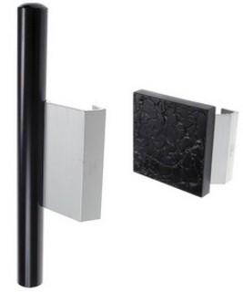 Drag & Tryck A=74 Aluminium/PVC    Natur
