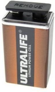 Litiumbatteri 9V
