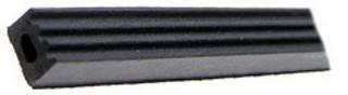 Cellolist 10X6mm 100m/rulle Svart