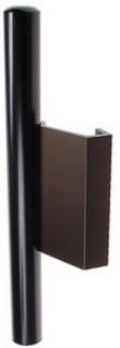 Dragstång Aluminium/PVC Amber 40