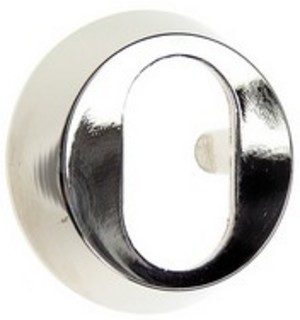 Cylinderring 13mm Oval Mattkrom