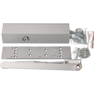 Dörrstängarsats TS83 3-6 med Standardarm Silver