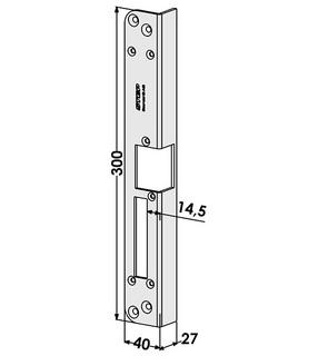 Monteringsstolpe ST186-A Vänster