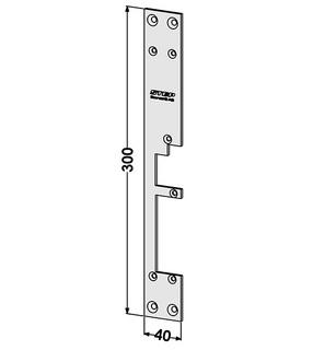 Monteringsstolpe ST283-A Vänster