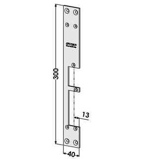 Monteringsstolpe ST285-A Vänster