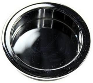 Skålhandtag 40mm Krom