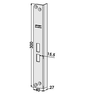 Slutbleck ST802-A Vänster