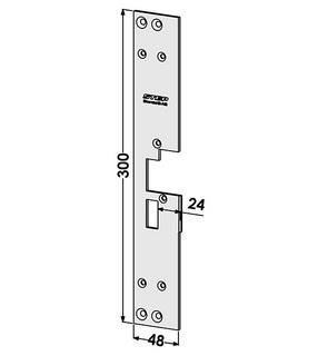 Monteringsstolpe ST190-A Vänster