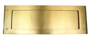 Brevinkast 266 430X150 med         Baklucka Nickel