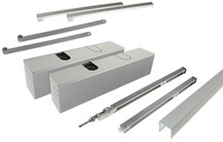 Dörrstängarsats TS93G GSR-EMF2/BG Silver