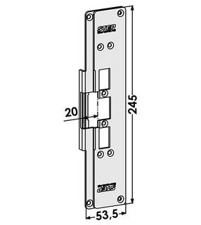 Monteringsstolpe ST6502