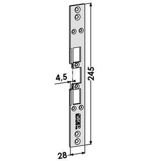 Monteringsstolpe ST6511