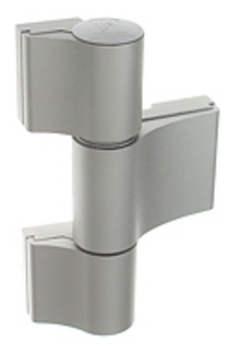 Gångjärn 4AT 3-Del 91,5mm          Ankarskruv 58mm Natur