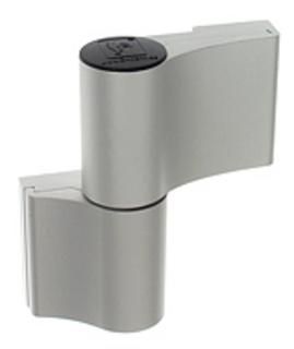 Gångjärn 4AT 2-Del 65mm Ankarskruv 58mm Natur