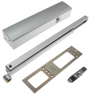 Dörrstängarsats TS5000 med         Uppställningsenhet Silver