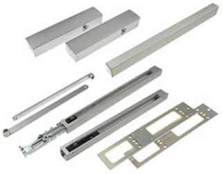 Dörrstängarsats TS5000L-R-ISM Silver