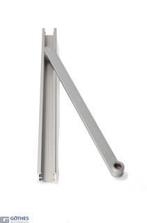 Glidskena TS3000/5000 BG Silver