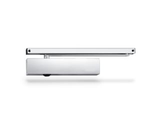 Dörrstängarsats TS5000L 2-6 med Standardglidskena Silver