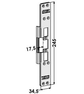 Monteringsstolpe ST6509