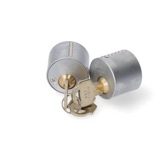Cylinder DC5400 Standard 3 Nycklar Mattkrom