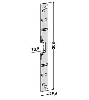 Monteringsstolpe ST2922