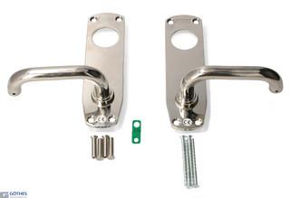 Nödutrymningsbeslag 179E-2 42-90mm Nickel