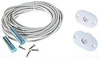 Magnetkontakt MK240 Komplett för   Aluminium 6m Infälld