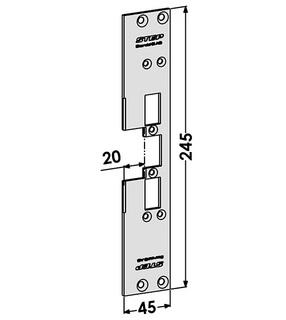 Monteringsstolpe ST6559