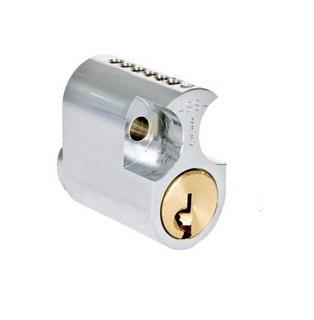Cylinder D12 1203 Enligt Låsning   Ej Nycklar Nickel
