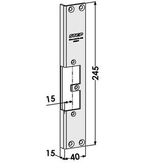 Monteringsstolpe ST9501H Höger