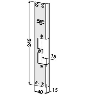 Monteringsstolpe ST9501V Vänster