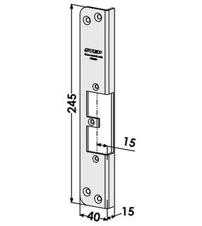 Monteringsstolpe ST9502V Vänster