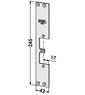 Monteringsstolpe ST9503V Vänster