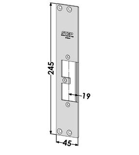 Monteringsstolpe ST9504V Vänster
