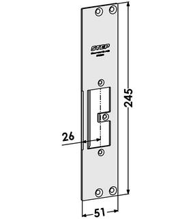 Monteringsstolpe ST9505H Höger