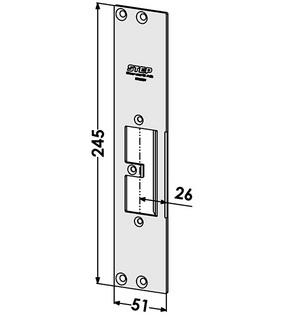 Monteringsstolpe ST9505V Vänster