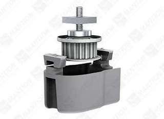 Returhjul/Kopplingsb 10189PW2      SAF-Power Dubbeldörr