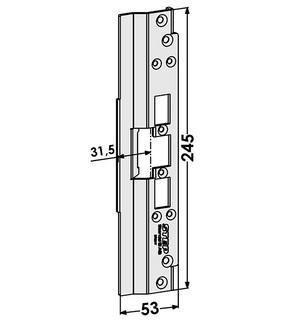 Monteringsstolpe ST6517