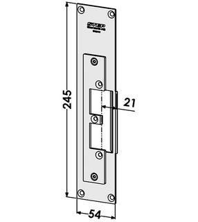 Monteringsstolpe ST9511V Vänster