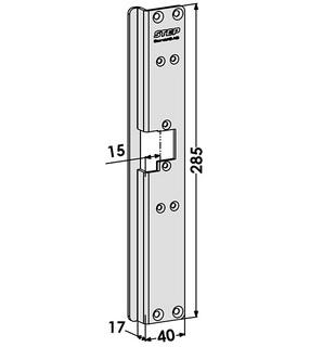 Monteringsstolpe ST6549