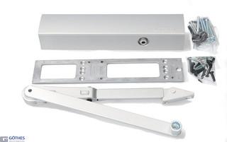 Dörrstängarsats TS4000 1-6 med Uppställningsarm Knapp Silver