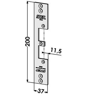 Monteringsstolpe ST9516